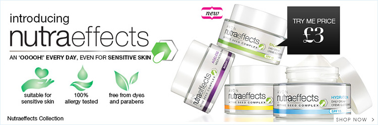 Introducing nutraeffects an oooh everyday for sensitive skin