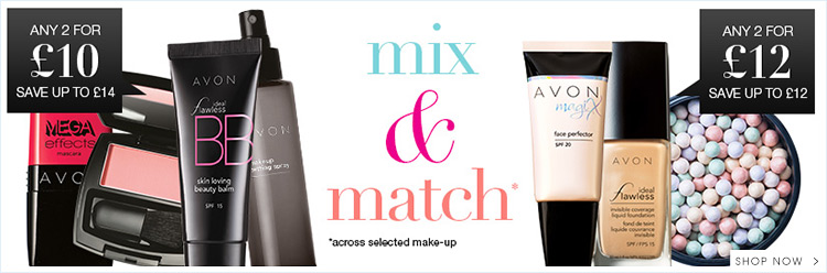Make Up Mix n Match - Any 2 for £10 & Any 2 for £12